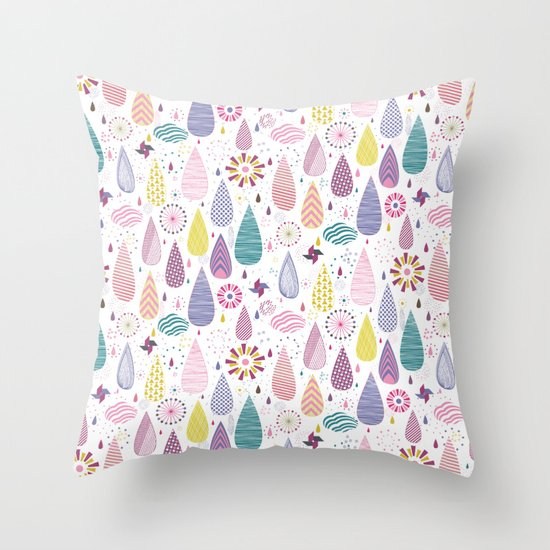Magical Weather Throw Pillow