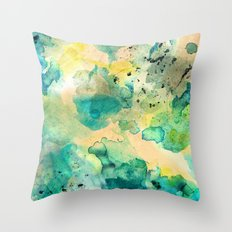 Diving Throw Pillow