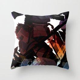 Culture Shock - Samurai Throw Pillow