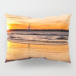 Marina Del Rey Sunset at the Jetty Pillow Sham