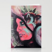madonna Stationery Cards featuring Madonna by Alyx Cyr