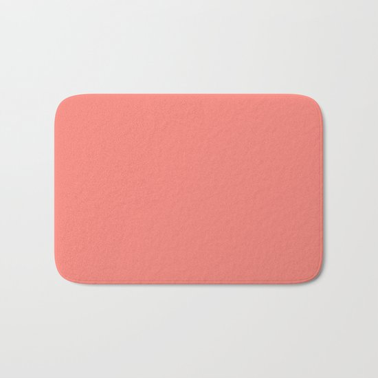 color tea rose Bath Mat