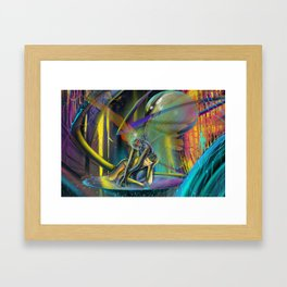 Avatars (Full Print) Framed Art Print