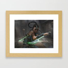 MTG Murderous Cut - Exclusive Print Framed Art Print