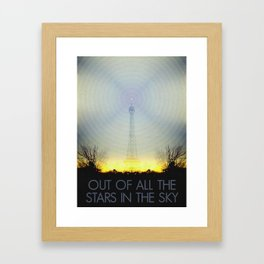 Out of All the Stars In the Sky   1•1 Framed Art Print