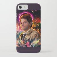 castiel iPhone & iPod Cases featuring Castiel by ururuty