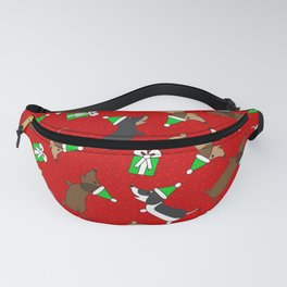 Merry Dachshunds Fanny Pack