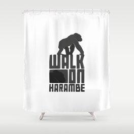 Harambe Shower Curtain