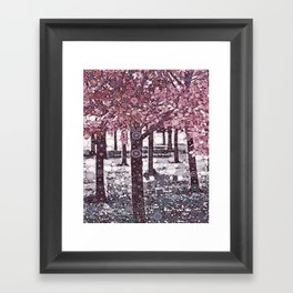 :: Girl Trees :: Framed Art Print