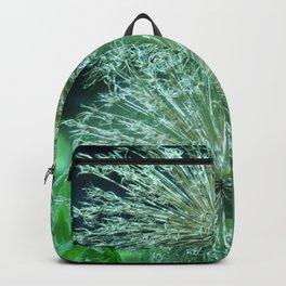Green Flowers Backpack
