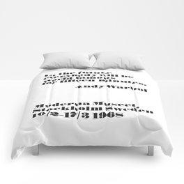 W A R H O L - In the future Comforters