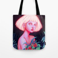 venus Tote Bags featuring Venus by Joifish