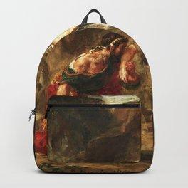 "Eugène Delacroix ""Hercules and Alcestis"" Backpack"
