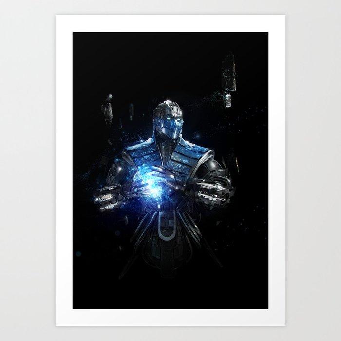 Sub-Zero Art Print