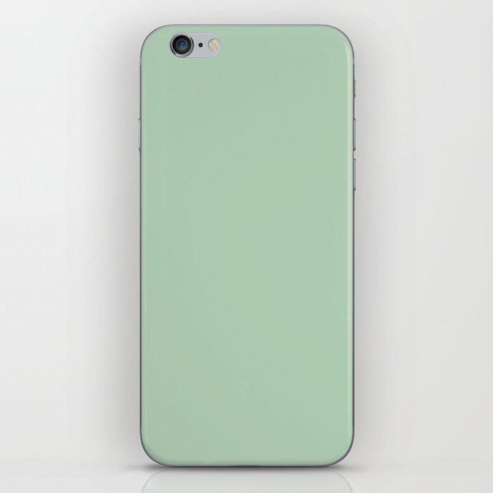 Simply Pastel Cactus Green iPhone Skin