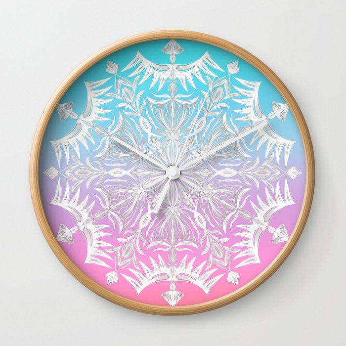 Crystal Dawn Wall Clock