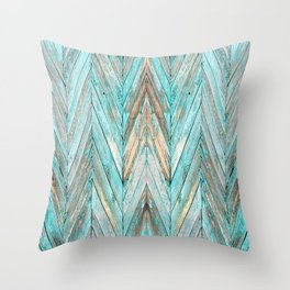 Wood Texture 1 Throw Pillow