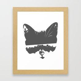 City Kitty Framed Art Print