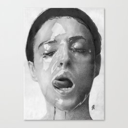 Monica Bellucci Traditional Portrait Print Canvas Print