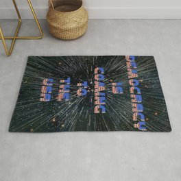 Democracy is coming - A Hell Songbook Edition Rug