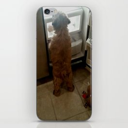 Squeaky, I found our snacks! iPhone Skin