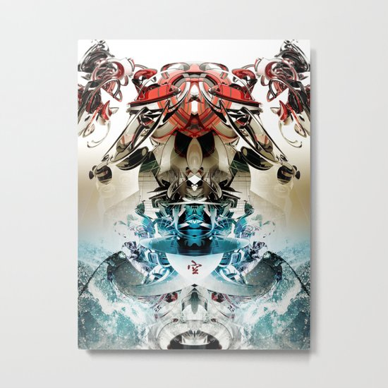 Vacío Metal Print