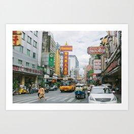 BANGKOK Art Print