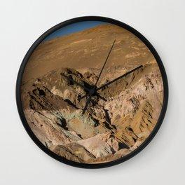 Artist's Palette Pano - Death Valley, California Wall Clock