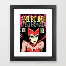 Post-Punk Spell Framed Art Print