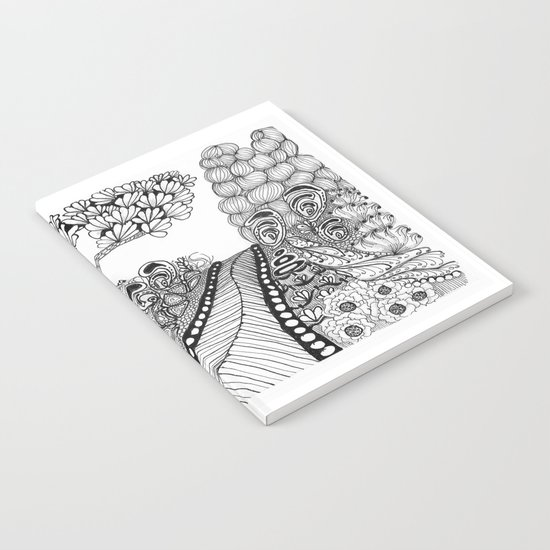 Zentangle Illustration - Road Trip Notebook