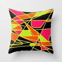 deco Throw Pillows featuring DECO by ..........