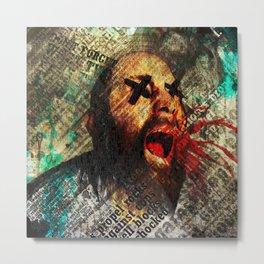 Sage scream Metal Print
