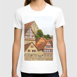 Traditional medieval German houses T-shirt
