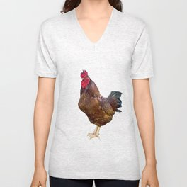 Carl the Rooster Unisex V-Neck