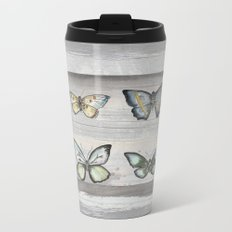 Butterfly study Metal Travel Mug