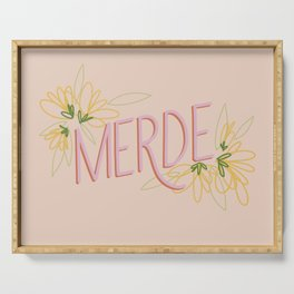 Merde Serving Tray