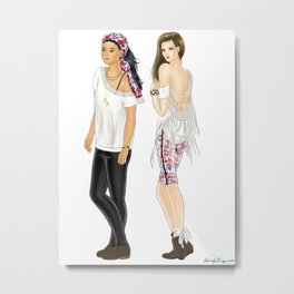 Fashion Journal: Day 28 Metal Print