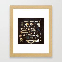 Knolling I Framed Art Print