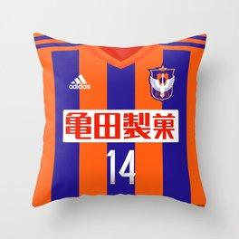 Niigata 2015 Throw Pillow