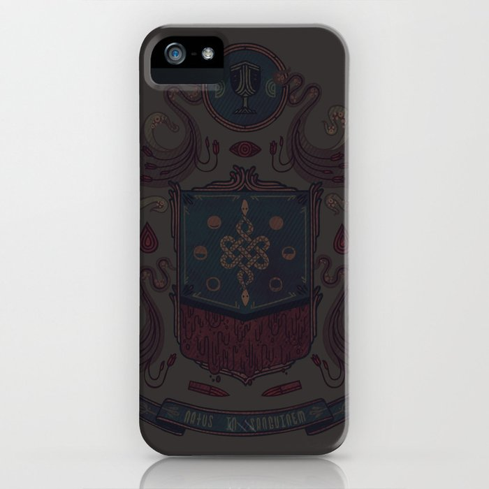 Born in Blood iPhone Case