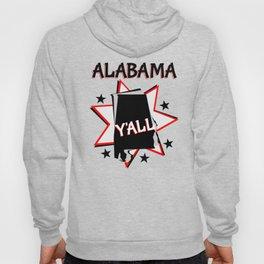 Alabama State Pride T-shirt Hoody