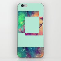 decal iPhone & iPod Skins featuring Space Decal by artii