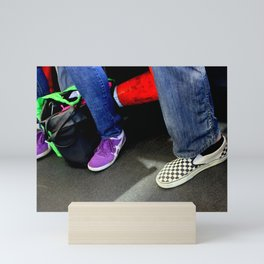 Three And A Half Feet Mini Art Print