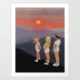 just kids Art Print