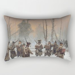 25 February 1831 Rectangular Pillow