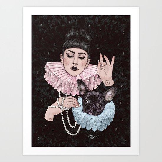 Dress Up Art Print