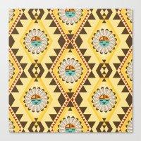 southwest Canvas Prints featuring Southwest  by Mia Valdez