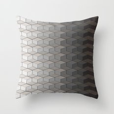 Pattern #6 Greyscale Throw Pillow