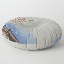 The Beginning Floor Pillow