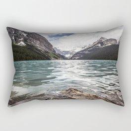 Landscape Lake Louise Rectangular Pillow